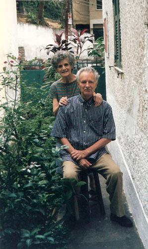 Mário Barata e Tiziana - 1997