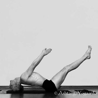 yoga uttanapadasana