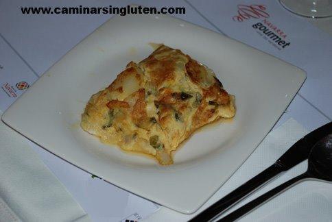 Tortilla de Lesaka en Navarra Gourmet 2009