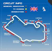 Ferrari domina Treinos Livres GP Inglaterra