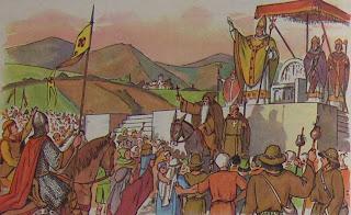 Le pape prêche la Croisade à Clermont