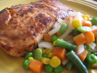 Resep Masakan Ikan Salmon Fillet Steak Untuk Anak Balita, Ibu Hamil Atau Bayi 10 Bulan