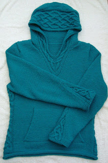 Id Rather be Knitting: Rogue Hoodie the Finished Object!