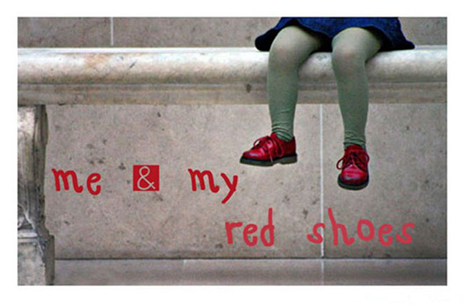 me & my red shoes