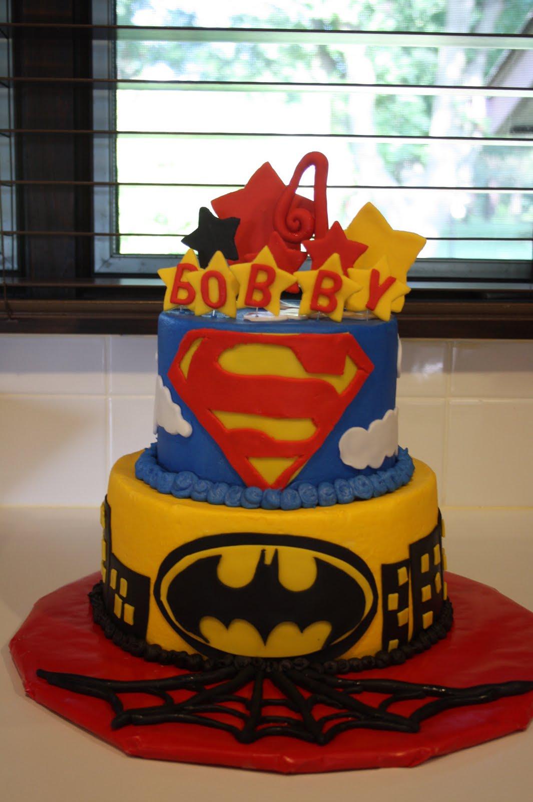 Superhero Birthday Cake - CakeCentral.com  |Superhero Cakes