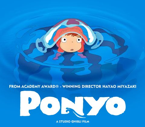 My Animation Films Synopsis Ponyo