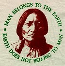 MAN BELONGS TO THE EARTH
