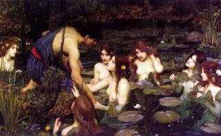 Hylas y las ninfas