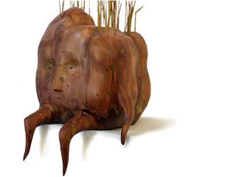 brendan monroe escultura en madera