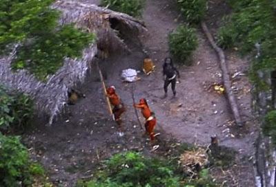 nueva tribu en el amazonas