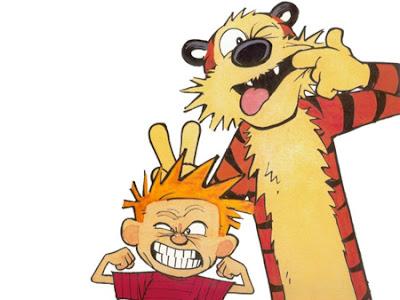 Calvin & Hobbes, imagem com direitos reservados
