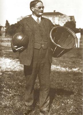 James Naismith, foto com direitos reservados