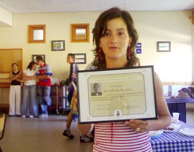 Ana Bandeira, melhor aluna do M9