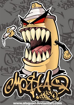 Drawings Of Graffiti Cartoons - Pencil Drawings Sketch