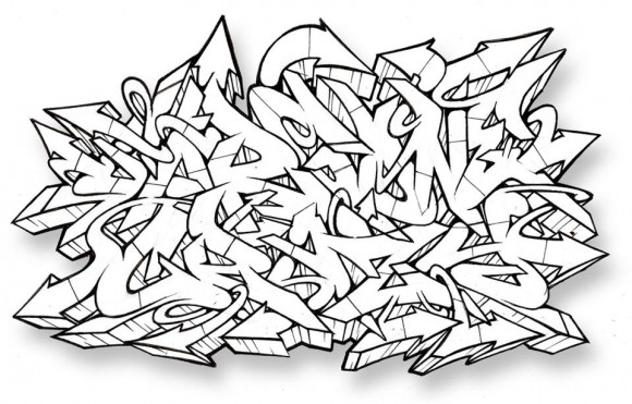 New Graffiti Letters: Graffiti Wildstyle Design in Street Art