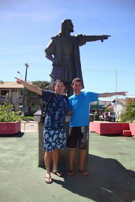 Estátua de Pedro Álvares Cabral em Porto Seguro