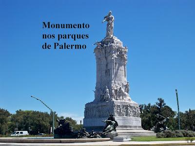 Monumento dos Parques de Palermo, em Buenos Aires