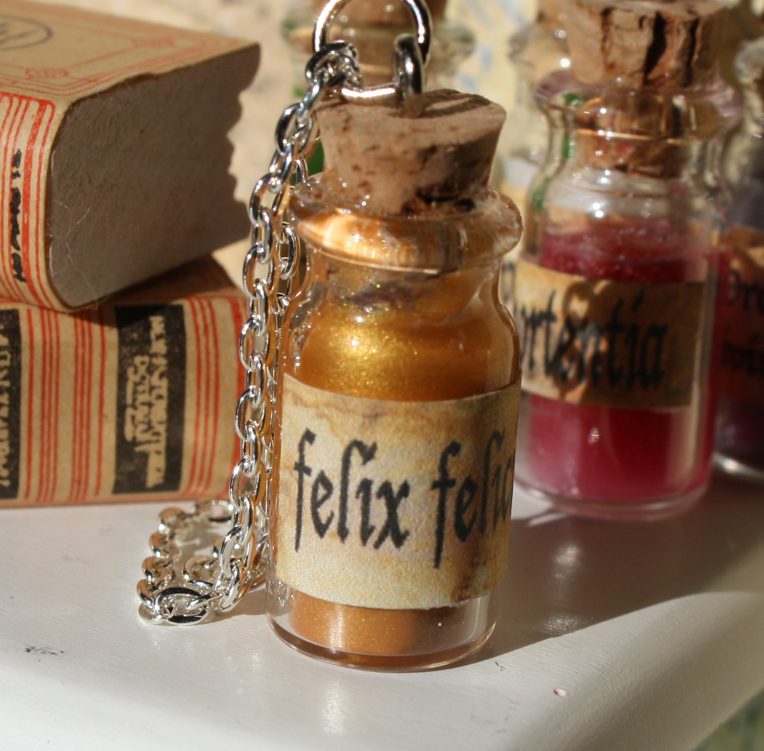 Toni Ellison Harry Potter Potion Bottles