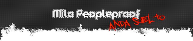 Milo Peopleproof