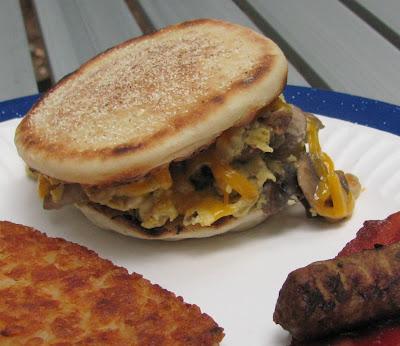Camping Cuisine - Breakfast Sandwiches