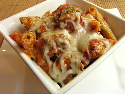 Baked Penne with Meatballs