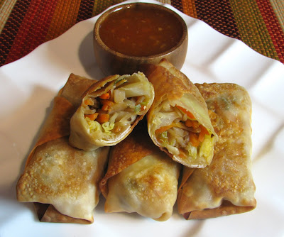 Baked Vegetable Egg Rolls