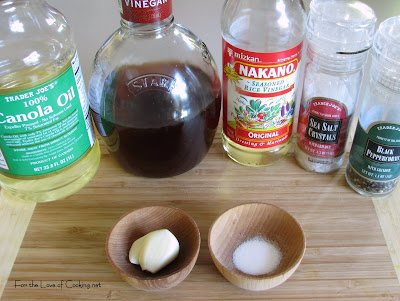 Fran's Simple Vinaigrette