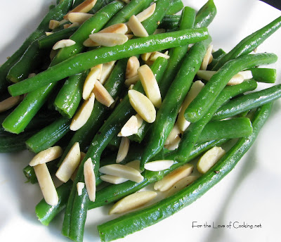 Green Beans with Almond Slivers