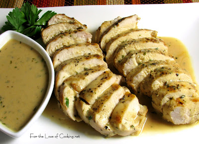 Grilled Chicken with Mustard-Tarragon Sauce
