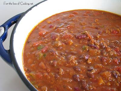 Beef, Black Bean, and Chorizo Chili