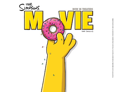 simpsons wallpaper. Homer Doughnut Wallpaper