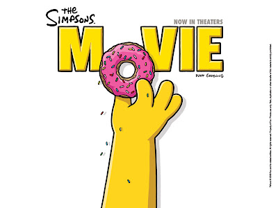 the simpsons wallpaper. Homer Doughnut Wallpaper 1024x768