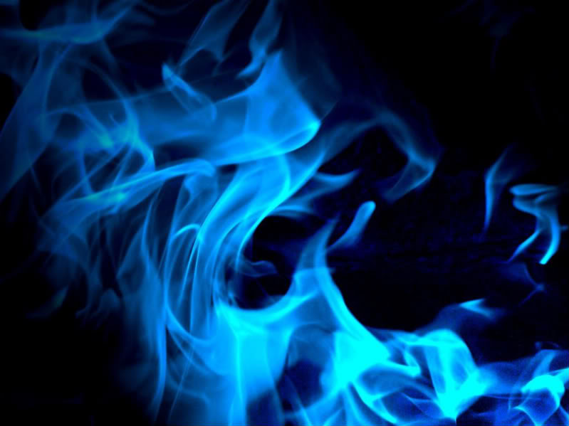 Blue Is Hottest Flame 46