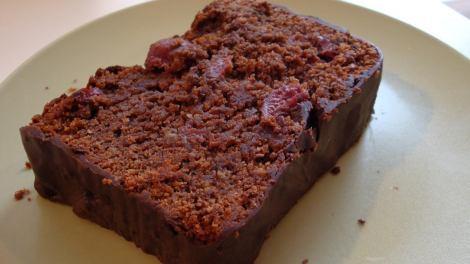 Gourmandises Végétariennes Kirsch Schoko Nuss Kuchen