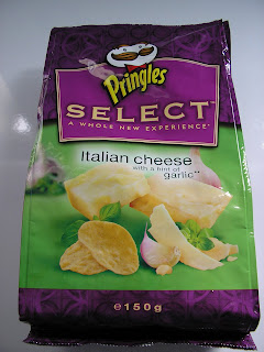 Pringles Select - Italian Cheese With a Hint of Garlic and no tube