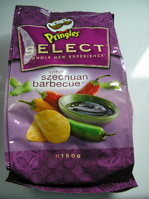 Pringles Select – Spicy Szechuan Barbecue no tube
