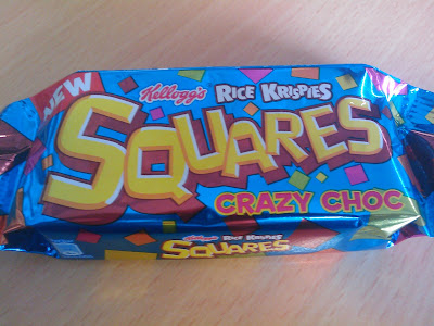 Rice Krispies Squares - Crazy Choc