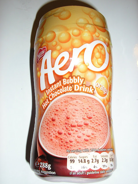 Aero Hot Chocolate Orange