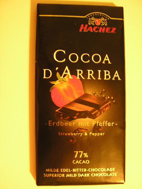 Hachez Cocoa D'Arriba –Strawberry & Pepper