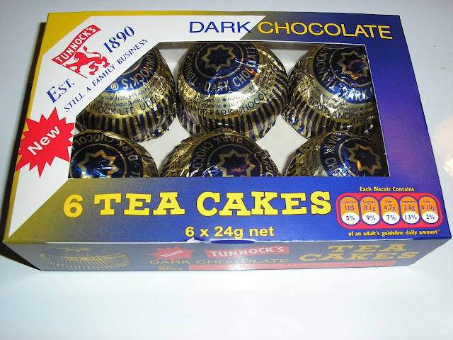 Tunnocks Tea Cakes Dark Chocolate