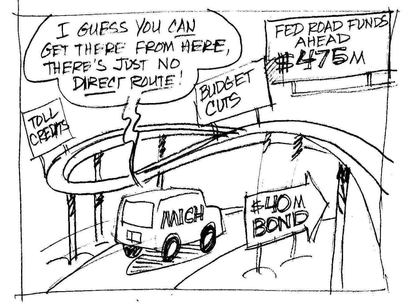 Pen Points Cartoon Of The Day Road Work