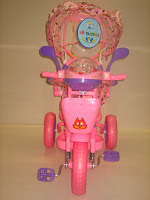 2 Sepeda Roda Tiga GOLDBABY 18-9 Dolls in PINK 2