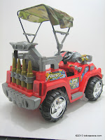 4 Mobil Mainan Aki PLIKO PK8728N Assault Car