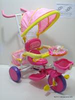 2 Sepeda Roda Tiga PORORO Abi Prinsel
