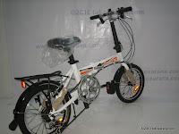 4 Sepeda Lipat ELEMENT FLASH 16 Inci