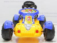 1 Mobil Mainan Aki PLIKO 8818N GO KART Remote Control