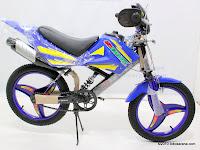 Sepeda Anak DEJAVU Motocross Suspension 16 Inci