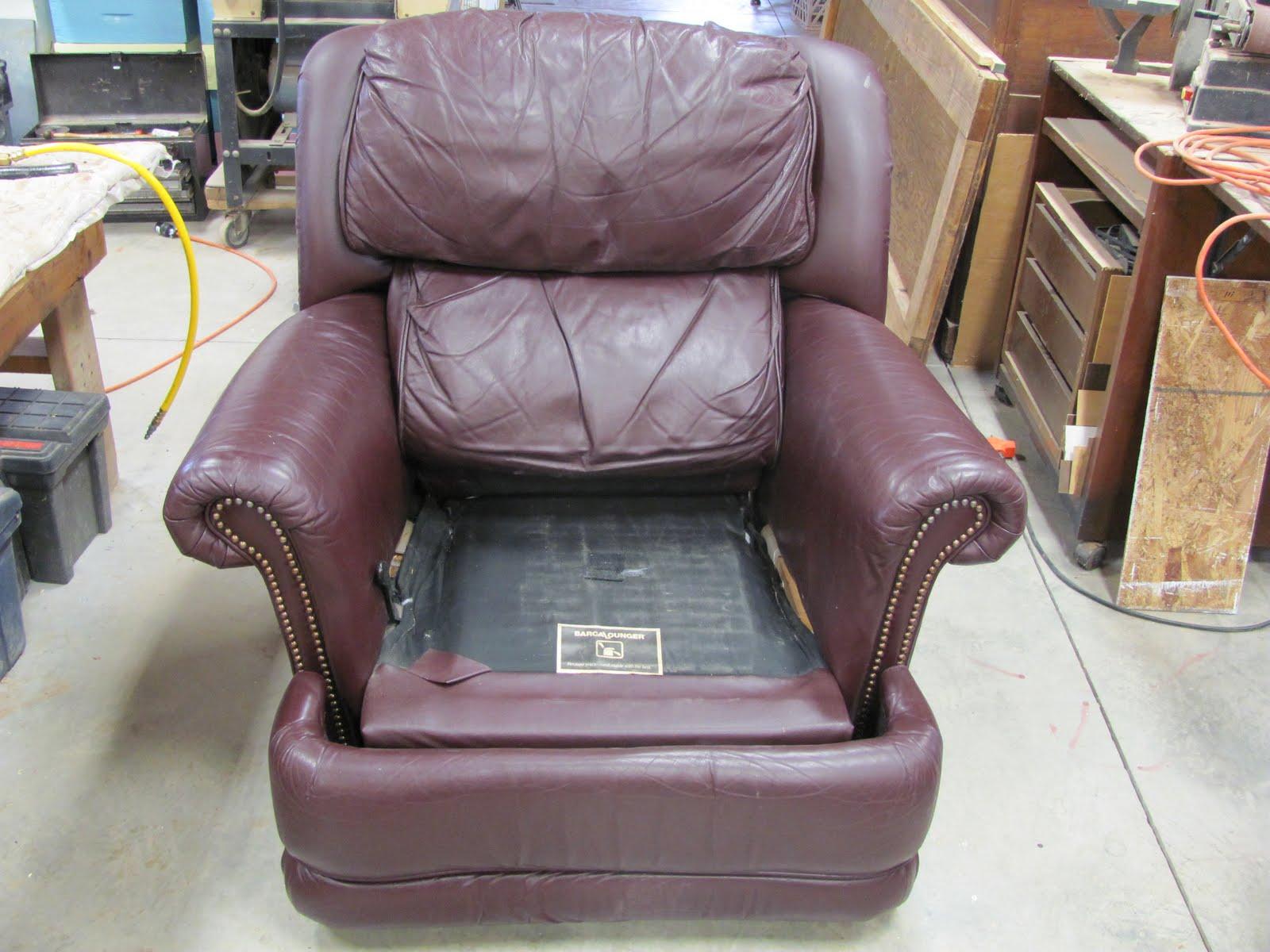 Recliner Chair Handle Broken Orange Adirondack Chairs Thomas Nelson Furniture Restoration Arm