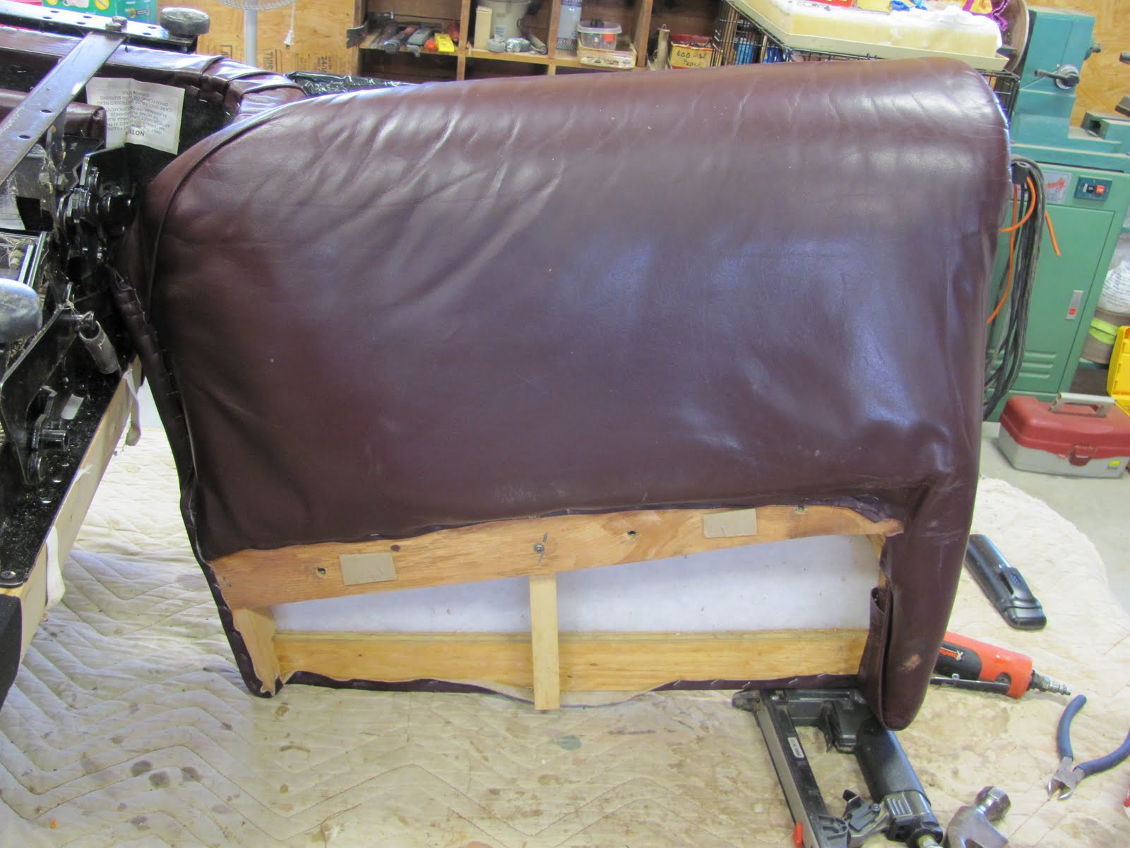 Recliner Chair Handle Broken Your Covers Inc Thomas Nelson Furniture Restoration Arm