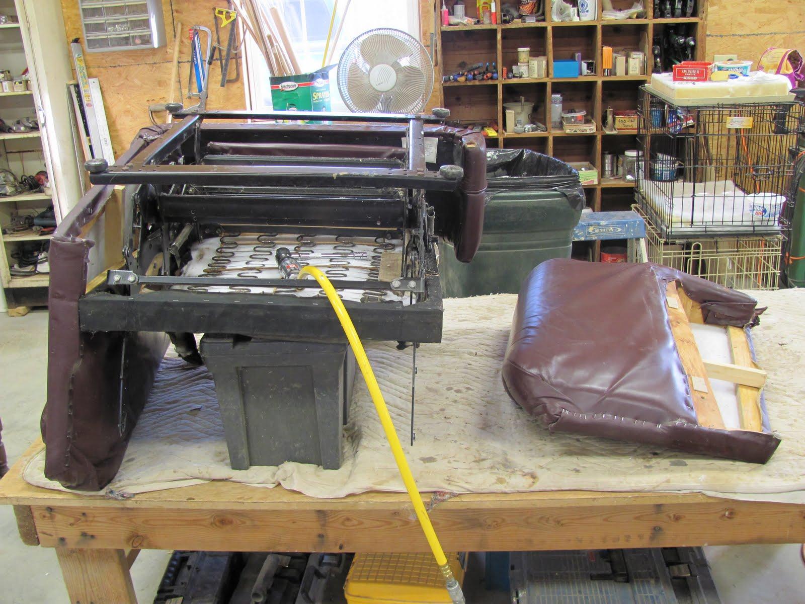 Recliner Chair Handle Broken Staples Mats For Carpet Canada Thomas Nelson Furniture Restoration Arm
